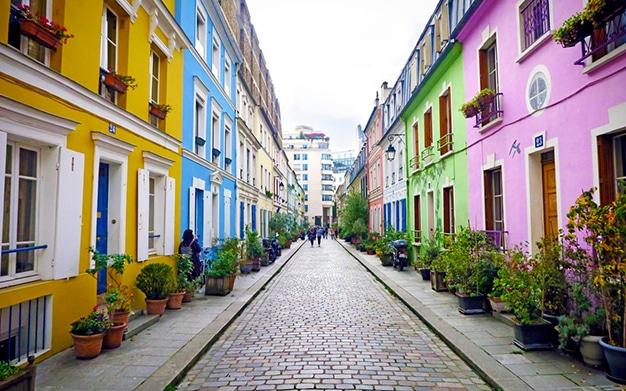rue crémieux - 5 passeios imperdíveis em Paris