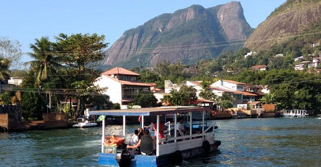 Ilha da Gigóia na Barra da Tijuca