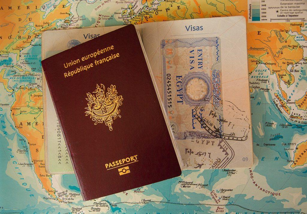 passaporte e visto - documentos para viagem internacional