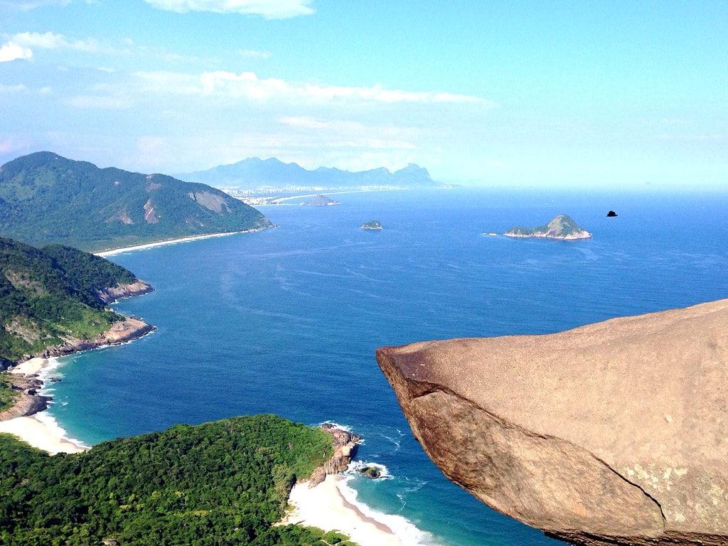 Pedra do Telégrafo um dos lugares incríveis para tirar foto no Rio de Janeiro