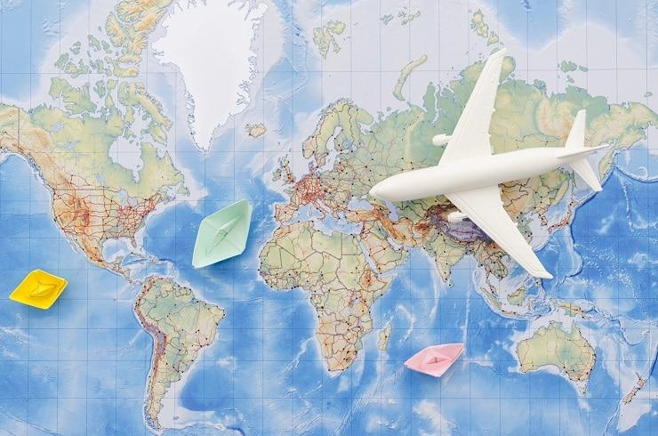 aplicativos de viagem: google maps e maps.me
