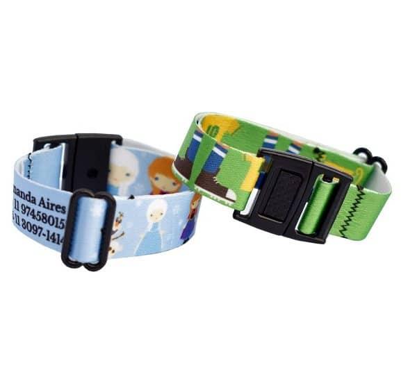 pulseiras personalizadas grudado em você para utilizar na Disney