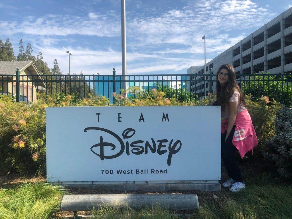 tudo sobre o meu processo trabalhando na Disney
