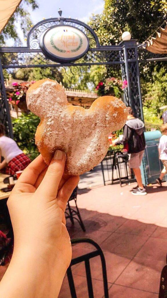 beignet da disney california